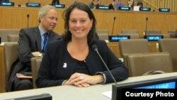 Јозет Тајхузен претставник на жените од Холандија во Собранието на Обединетите Нации.