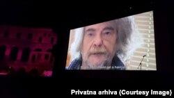 Prikazivanje Kvesićevog filma na festivalu u Puli