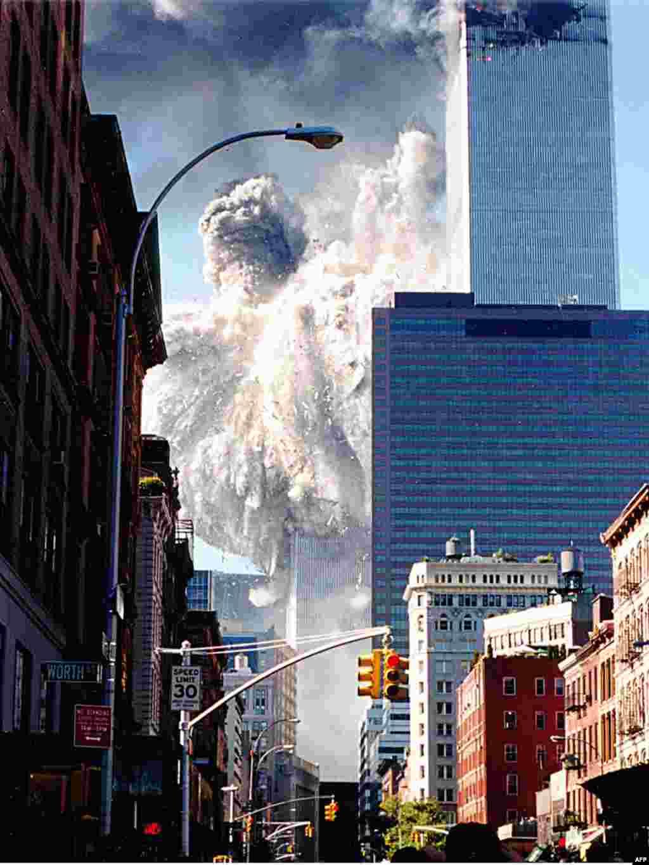 نیویورک، ۱۱ سپتامبر ۲۰۰۱