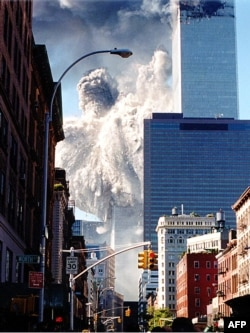 Пожежа у південній вежі ВТЦ. 11 вересня 2001 року