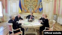 Учасники наради у Президента