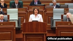 "Kosovo's President Atifete Jahjaga has called on all political parties to respect the decision and ""use this moment to restart political dialogue and restore normality to the country."""