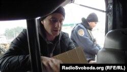 Сергей Жадан во время одной из поездок на Донбасс