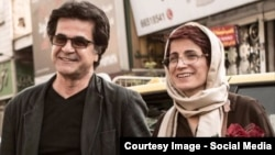 Film director Jafar Panahi (left) and human rights lawyer Nasrin Sotoudeh are two prominent Iranians inside the country who have joined the campaign.