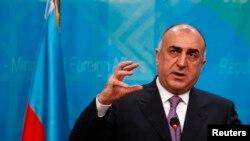 Министр иностранных дел Азербайджана, Эльмар Мамедъяров. Архивное фото