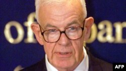 Former House of Representatives Speaker Thomas Foley is seen in Tokyo in 1999, when he was ambassador to Japan.