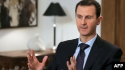 Сирия президенті Башар Асад. Дамаск, 11 ақпан 2016 жыл.