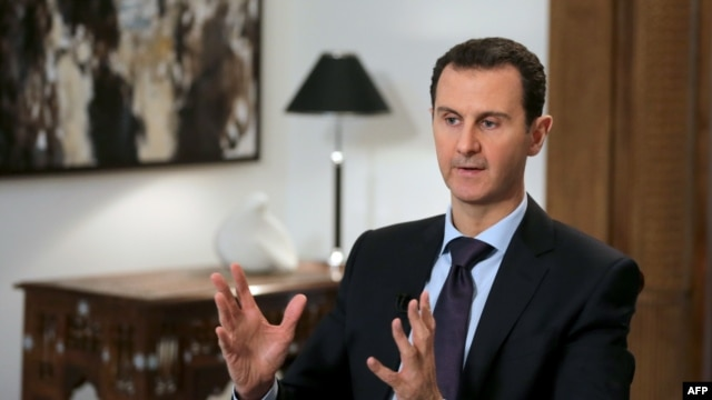 "Syrian President Bashar al-Assad said all opposition groups that have taken up arms against the government are ""terrorists."""