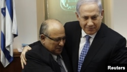 Prime Minister Benjamin Netanyahu (right) and Meir Dagan haven't always seen eye to eye.