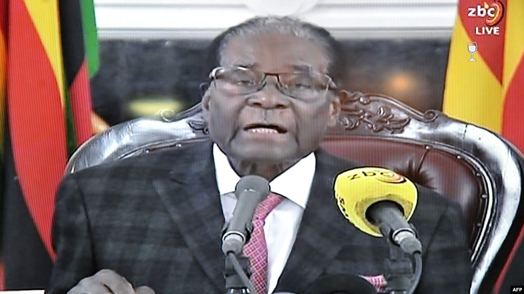 سیانان: موگابه پیشنویس استعفای خود را آماده کرده است