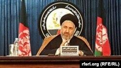 سید حسین عالمی بلخی وزیر امور مهاجرین و عودت کنندگان افغانستان