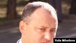 Igor Dodon, fost ministru al economiei