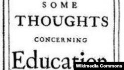 "Locke ""Education"" 1693"