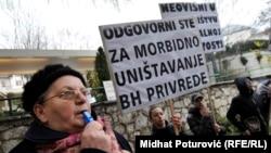 Protesti u BiH februar 2014.