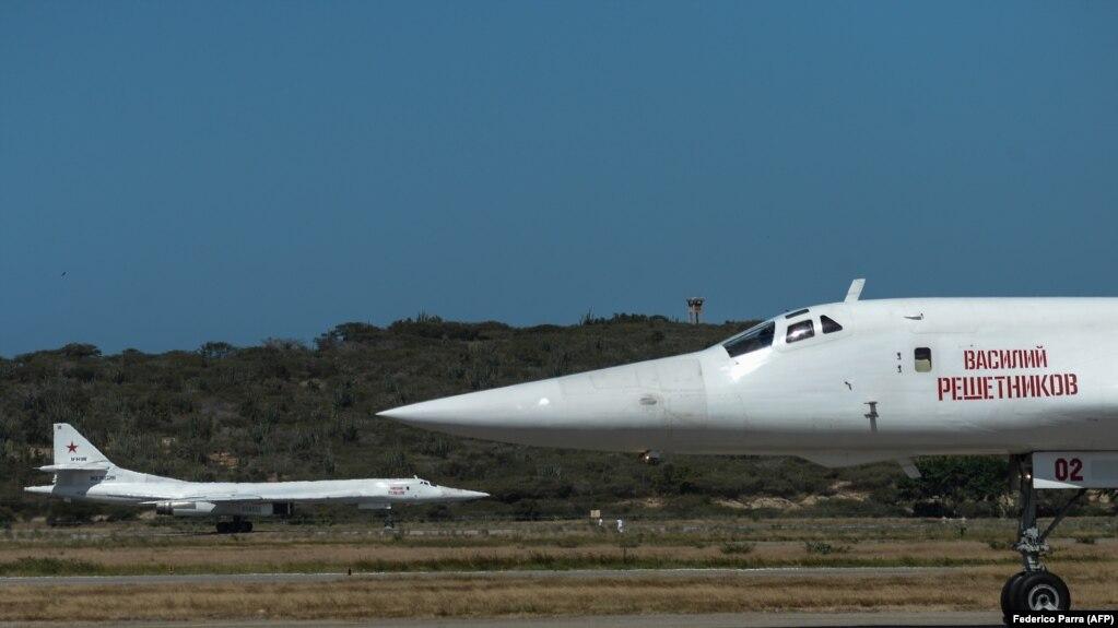 Российские Tу-160 в Венесуэле, 10 декабря 2018 года