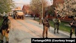 Обыски в домах ингушских активистов, архивное фото