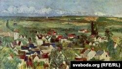 Поль Сэзан, «Від на Авэр-сюр-Уаз», 1875.