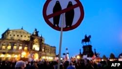 Pamje nga një protestë e mëparshme e lëvizjes Pediga në Dresden të Gjermanisë