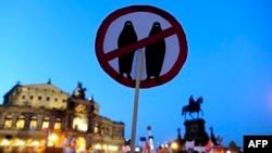 Nga një marshim anti-islamik në Drezden...