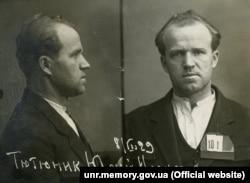 Юрий Тютюнник, генерал-хорунжий Армии УНР, руководитель Партизанского повстанческого штаба и командующий Украинской повстанческой армии во Втором зимнем походе 1921 года. Фото из уголовного дела 1929 года