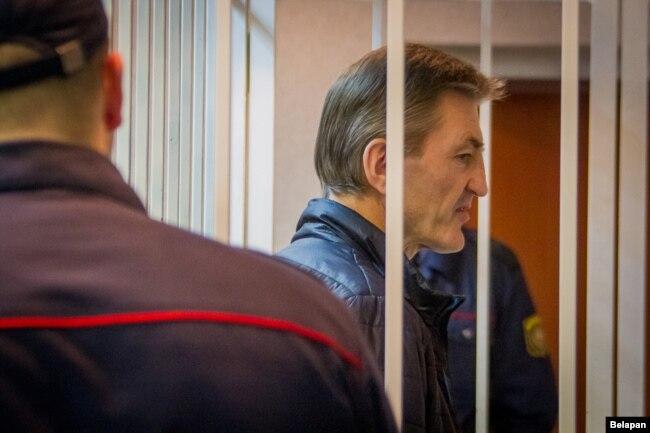 Вячаслаў Давыдовіч у судзе