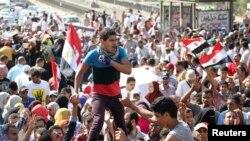 Одна из последних акций сторонников Мурси в Каире