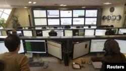 اتاق کنترل یک شرکت خدمات اینترنتی در تهران
