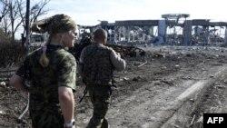 Қираған Луганск әуежайына бара жатқан ресейшіл сепаратистер