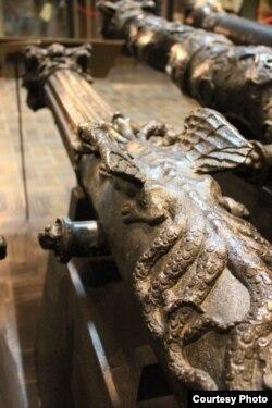 Гармата «Гідра». Майстар Герман Мольцфэльт. 1599 г.