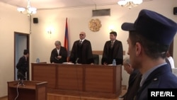 Armenia -- The Court of Appeals opens hearings on an appeal lodged by imprisoned opposition leader Nikol Pashinian, 3 March 2010.