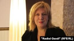 Специальный представитель ОБСЕ по свободе СМИ Дунья Миятович (архив)