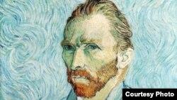 Autoportret Vincent Van Gogh, 1889.