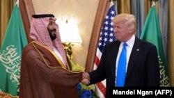 ولیعد عربستان در اردیبهشت ماه، میزبان دونالد ترامپ بود