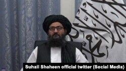 ملا عبدالغنی برادر رئیس دفتر سیاسی گروه طالبان در قطر