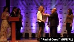 Tajikistan - Best brends of 2013 award ceremony in Dushanbe