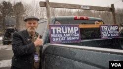 Podrška Trumpu u Nju Hempširu