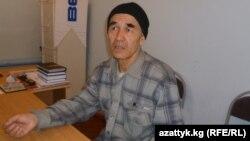 Қырғызстандық құқық қорғаушы Азимжан Асқаров.