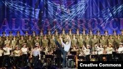 Александров атындағы ән-би ансамблінің концерті.