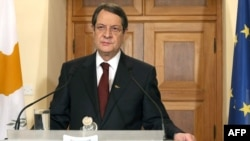 Cypriot President Nicos Anastasiades was due to hold talks in Brussels.