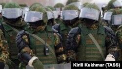 Бойцы российской Национальной гвардии