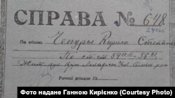 Архівно-слідча справа Кирила Чепури