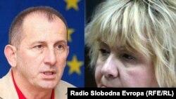 Milan Ivanović i Radmila Trajković