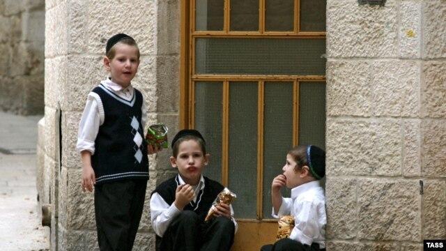 Дети в Иерусалиме