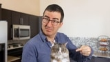 U.S. -- American TV host John Oliver has expanded the search for Chechen leader Ramzan Kadyrov's missing cat by asking viewers to troll Kadyrov's Twitter account with images of cats. It's working.