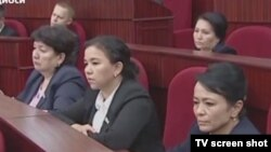 Депутаты парламента Узбекистана.