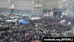 Kiýew: Garaşsyzlyk meýdanyndaky asudalyk, 23 Fewral, 2014
