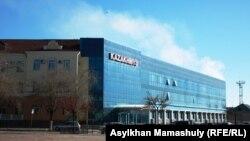 Офисное здание компании «Казахмыс» в Жезказгане.