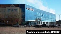 Офис товарищества «Корпорация Казахмыс» в Жезказгане, городе в Карагандинской области.
