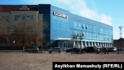 """Офис корпорации """"Казахмыс"""" в Жезказгане. 27 ноября 2013 года."""