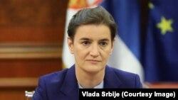Архива - српската премиерка Ана Брнабиќ.